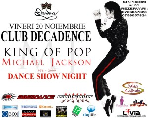 Dance Night Show MJ@Club Decadence